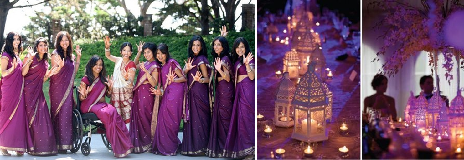 Colors That Go With Purple Part - 39: Choosing Colors For Your Wedding Is Interesting. Do You Go With Your  Favorite Color?